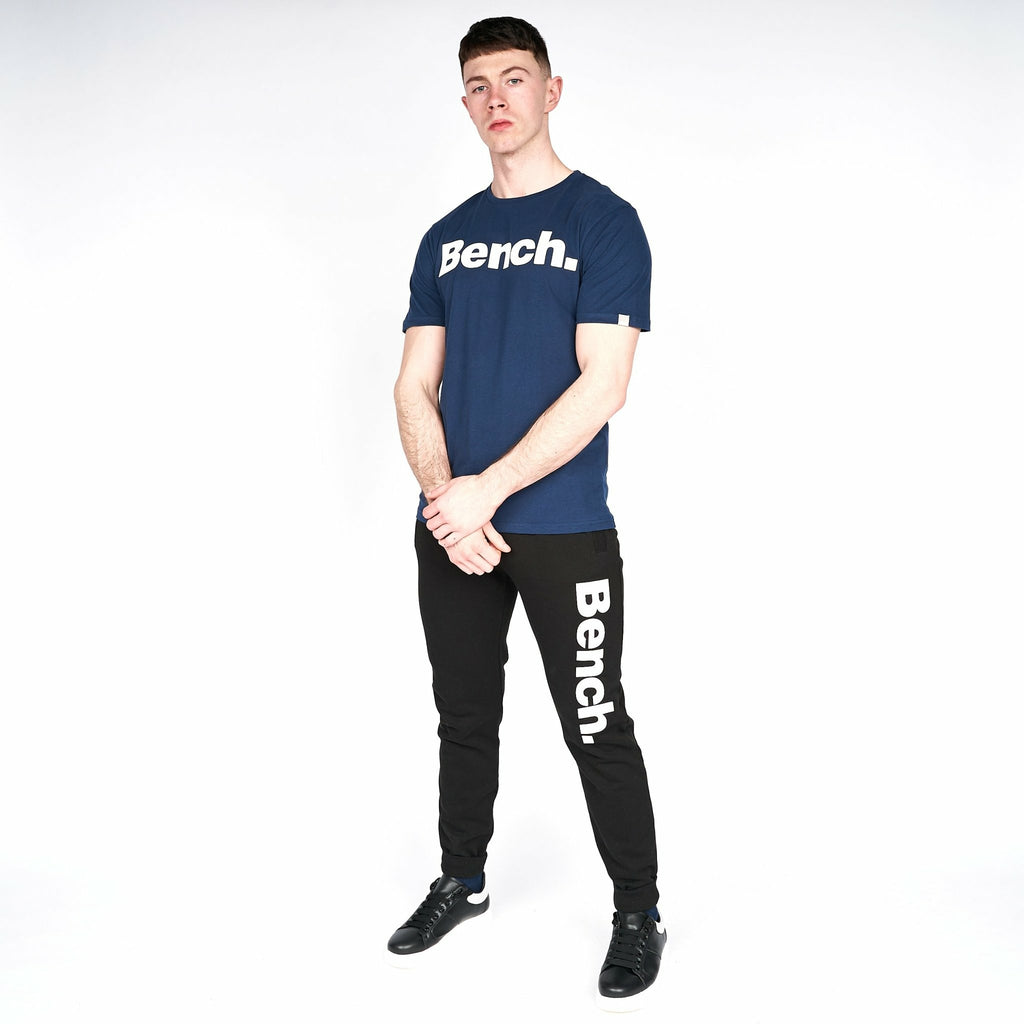 Mens Dele T-Shirt Navy - Bench Clothing - #LoveMyHoodMT-Shirts