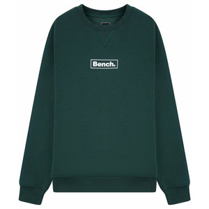 Mens Doyle Sustainable Crew Sweat Jungle Green - Bench Clothing - #LoveMyHoodLHoodies