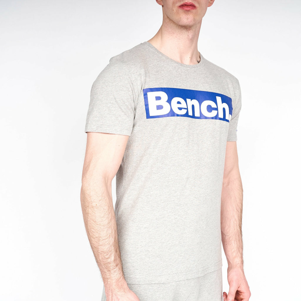 Mens Richmond T-Shirt Grey Marl - Bench Clothing - #LoveMyHoodST-Shirts