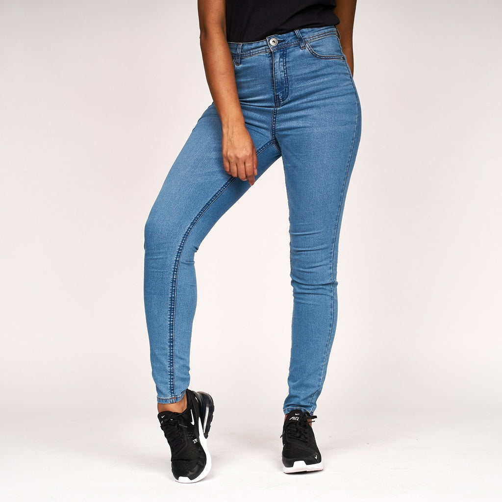 Womens Fay Skinny Jeans Light Wash - Bench Clothing - #LoveMyHoodW28 L31Jeans