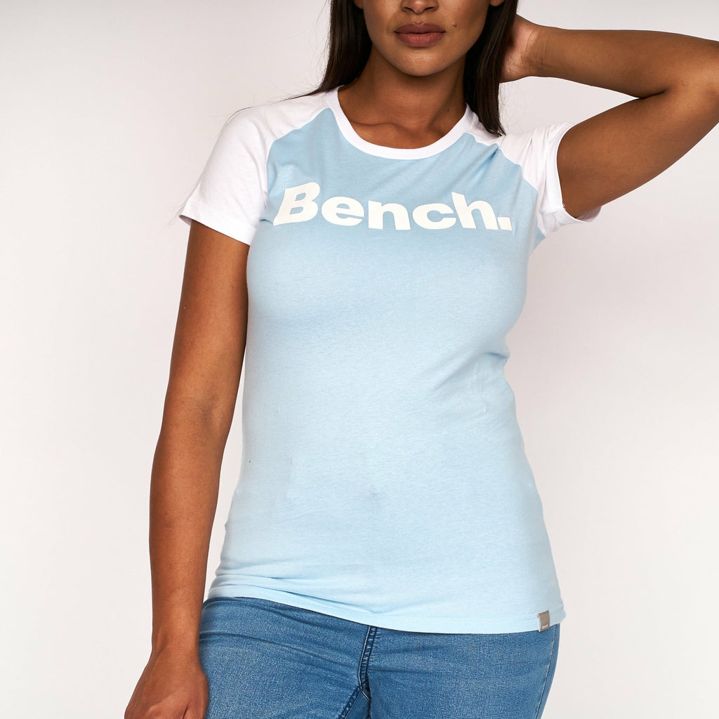 Womens Justino T-Shirt Bluebell - Bench Clothing - #LoveMyHoodSize 8T-Shirts