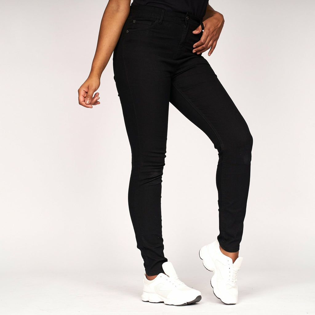Womens Lily Skinny Jeans Black - Bench Clothing - #LoveMyHoodW28 L31Jeans