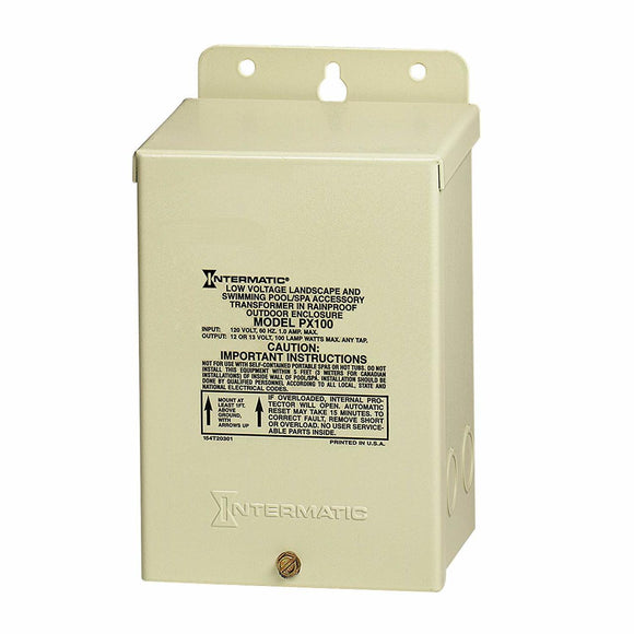 Intermatic PX100 Pool Light 100-Watt Safety Transformer