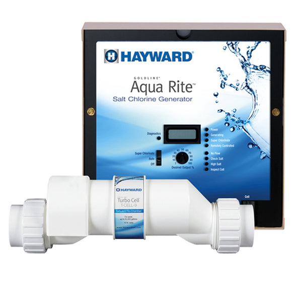 Hayward Goldline AQR9 AquaRite Electronic Salt Chlorination System