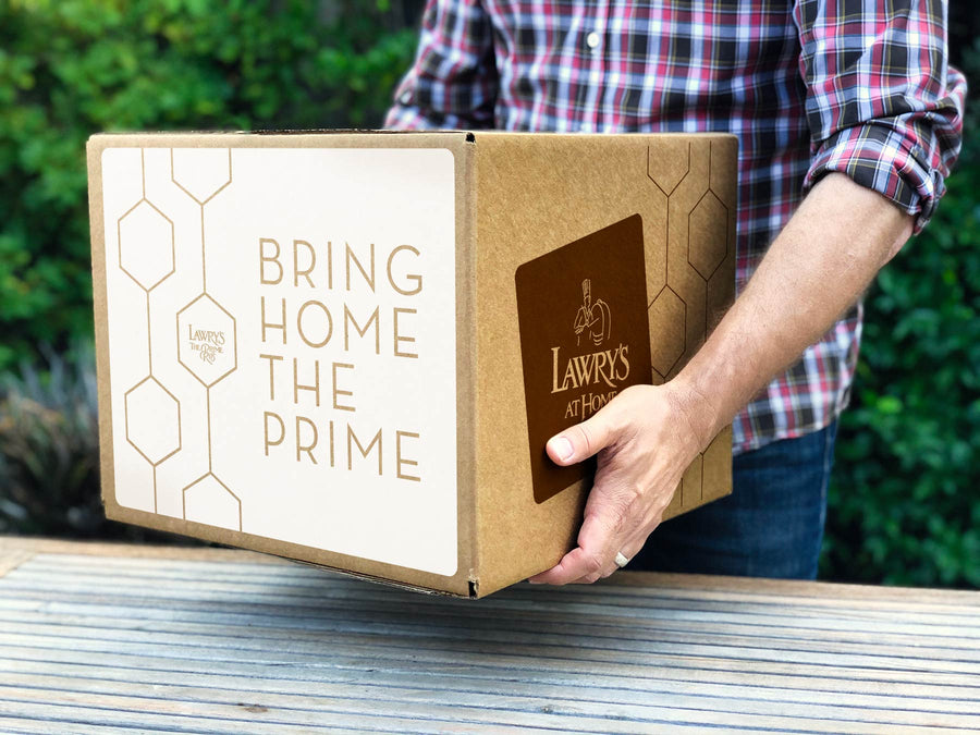 Lawry's Prime Rib Feasts ship to Chicago