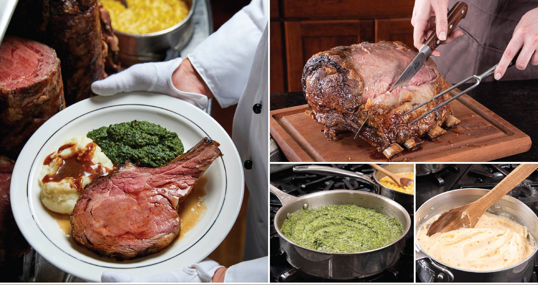 Prime Rib and Steak dinner packages corporate