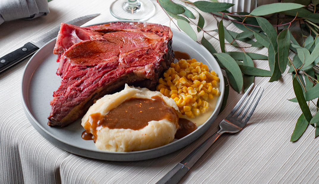 Lawry's Prime Rib For Fork and Spoon Fans