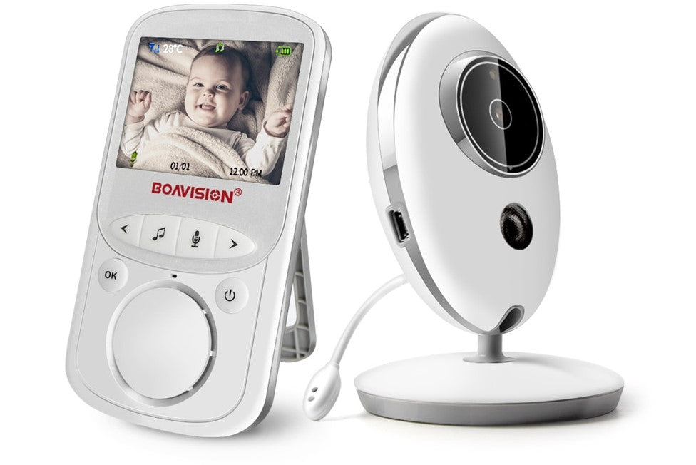 BOAVISION Wireless LCD Audio Video Baby Monitor - Mammaz Cart