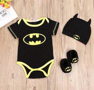Baby Batman Suit - Three-Piece Set - Mammaz Cart