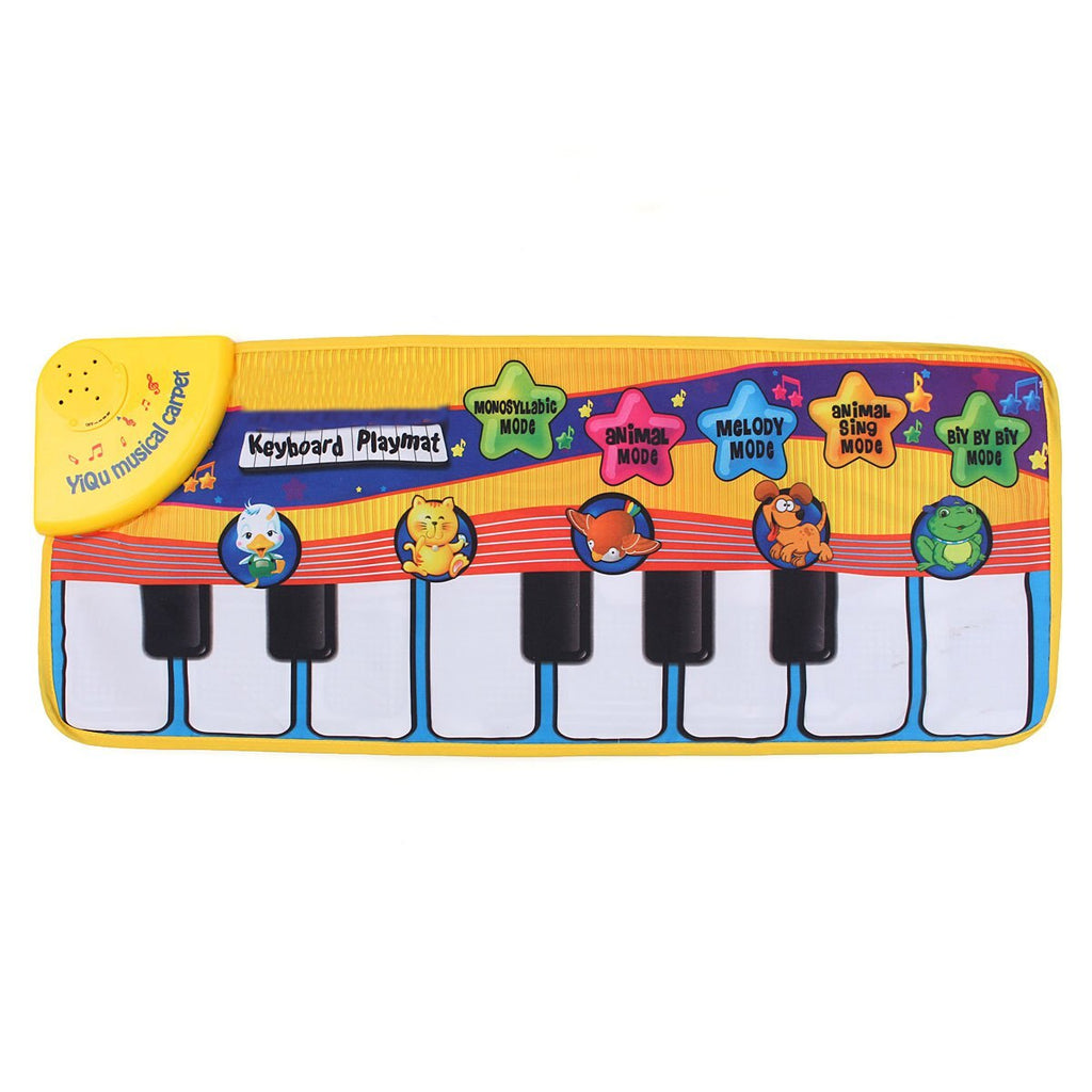 Musical Piano Mat For Baby, Early Education Musical Piano Keyboard Mat - Mammaz Cart