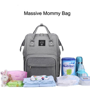 Mummy bag USB Diaper Bag Baby Care Large Capacity Mom Backpack - Mammaz Cart