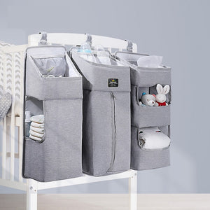 Sunveno Baby Storage Organizer Crib Hanging for Baby Essentials - Mammaz Cart