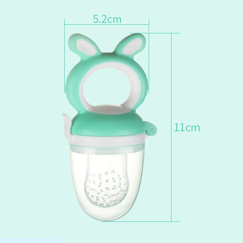 Baby Fruit Feeder pacifier silicon teething toy - Mammaz Cart