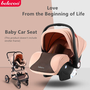 Belecoo Safety Car Seat Infant Baby Carrier - Mammaz Cart
