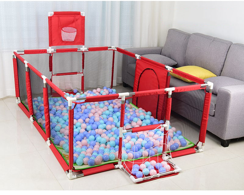 Dry Pool With Balls Baby Fence For Newborn For 0-6 Years Old Children Safety Barrier Bed Fence - Mammaz Cart