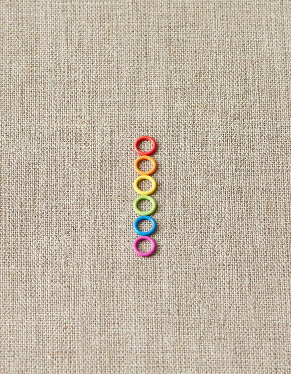Colored Ring Stitch Markers (Small)