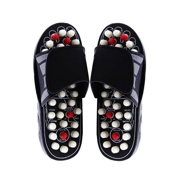 Foot massage sandals, therapeutic reflexology sandals, Relieve Arthritis Back Pain