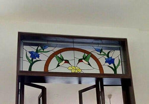 Humming birds door panels