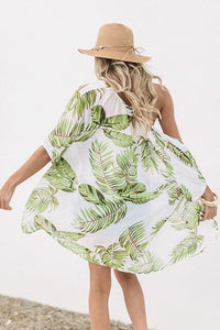 Printed Cover-ups Sexy Summer Beach Dress