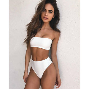 High Leg bikini set Swimwear