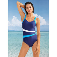 Load image into Gallery viewer, One Piece Swimsuit Women Classic Vintage Swimwear