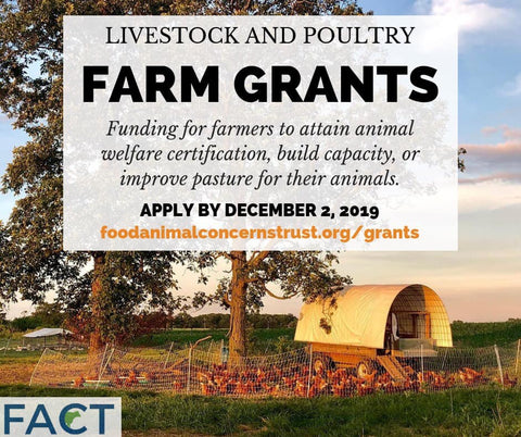 ag grant for electric fence