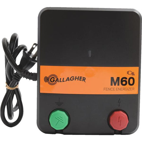 Gallagher M60 electric fence charger energizer