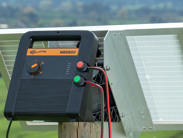 MBS800 solar fence charger