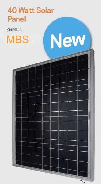Gallagher MBS Solar Panel and Bracket kit