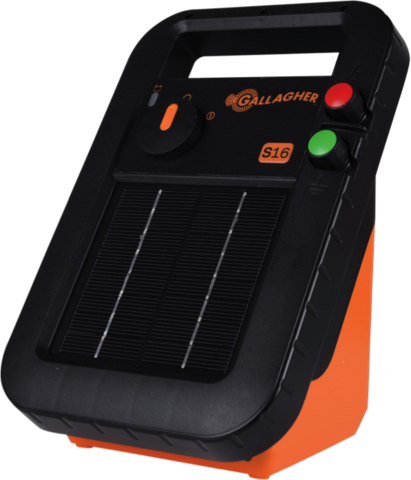Gallagher S16 Solar Energizer