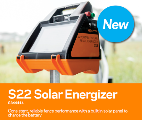 Gallagher S22 Solar Fence Charger Energizer