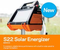 gallagher S22 Solar electric fence charger energizer