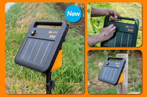 S40 Portable Solar Electric Fence Charger Gallagher Electric Fencing Gallagher Electric Fencing Valley Farm Supply Superstore