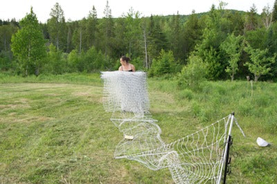 Solar Powered Electric Bear Netting Fence For Bee Keeping