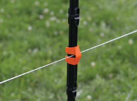 Gallagher insulated line post fence wire clip