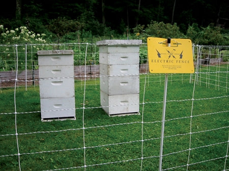gallagher electric fence net netting for bee hive apiculture apiary bear