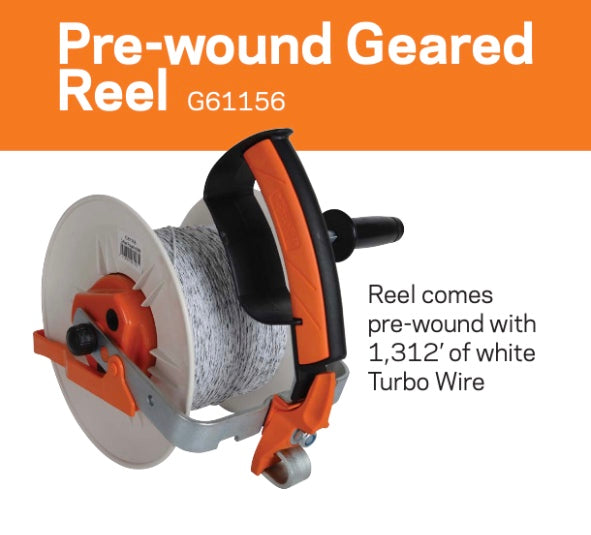Pre-wound Geared Reel G61156