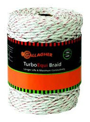 "3/16"" 656' Turbo Equibraid - Gallagher Electric Fence"