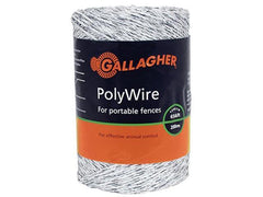 Gallagher 656' Electric Fence Poly Wire - Gallagher Electric Fence