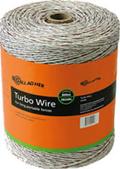 Gallagher 1312' + 300' White Turbo Fence Wire - Gallagher Electric Fence