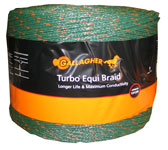 Gallagher G621774 electric fence green equipment here braid wire