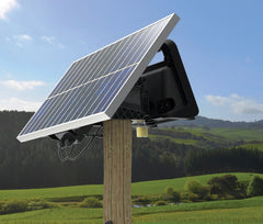 Gallagher MBS800 Charger / 90 Mile / 520 Acre with 40 Watt Solar Panel Kit - Gallagher Electric Fence