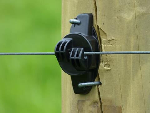 Gallagher Wood Post Claw Insulator G67304 Electric Fence
