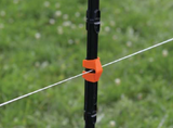 Insulated Line Post Clips | 20 Pack - Gallagher Electric Fence
