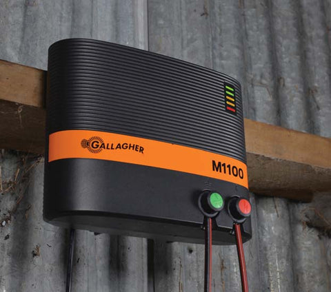 Gallagher M1100 Electric Fence Charger Powers 110 Miles