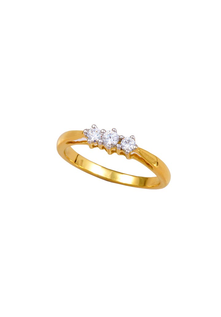Gold Ring S14KR003