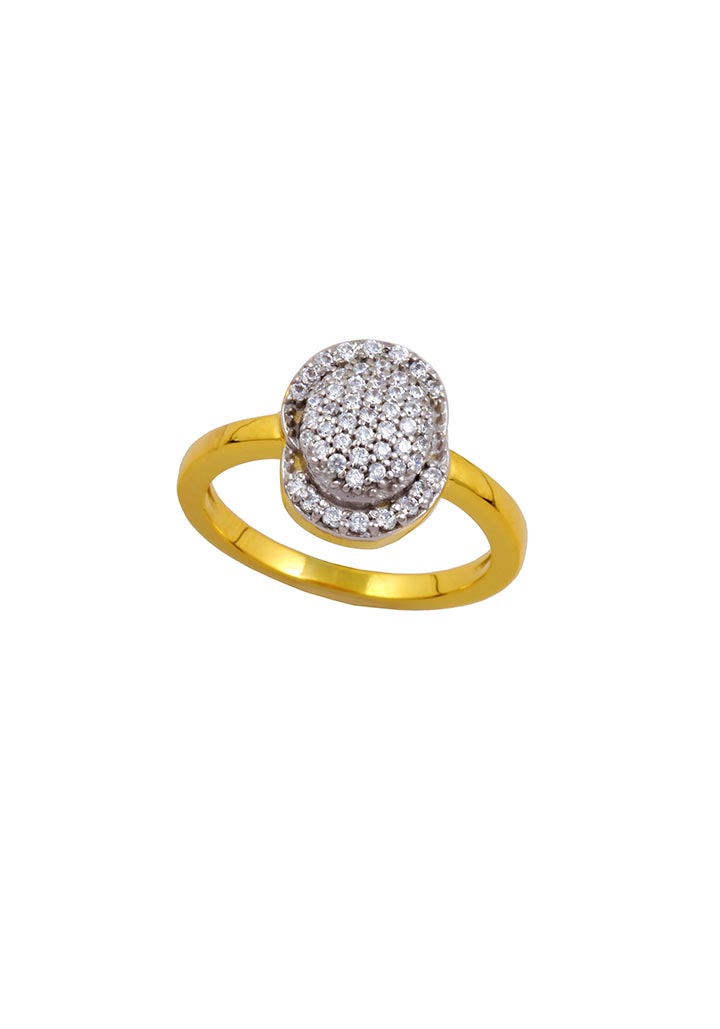 Gold Ring S14KR009
