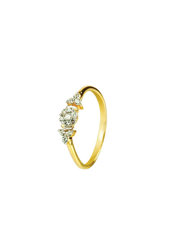Gold Ring S14KR104
