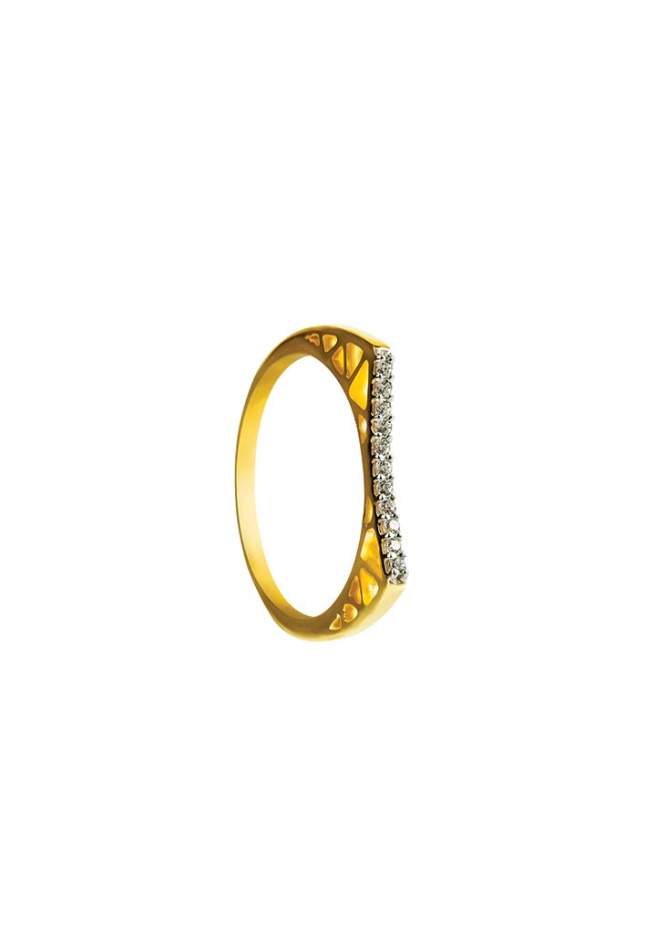 Gold Ring S14KR116