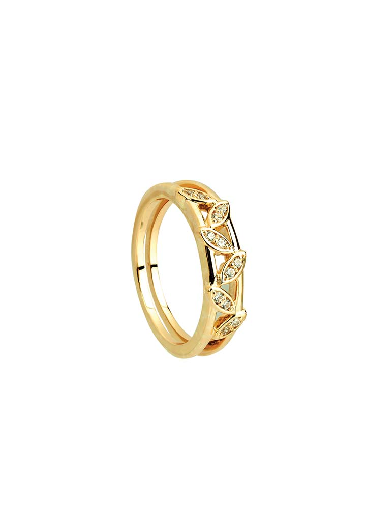 Gold Ring S14KR122
